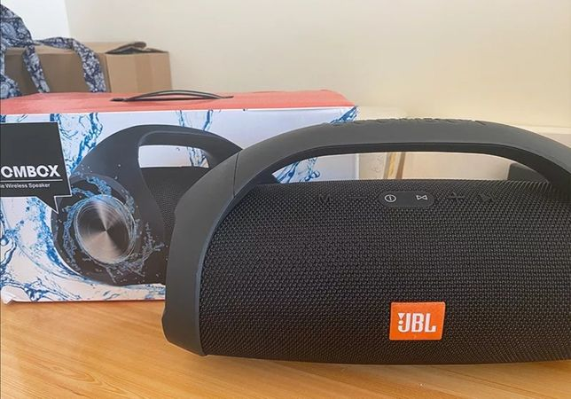 Jbl Boombox 2 coluna Bluetooth(envio grátis)Novas Seladas