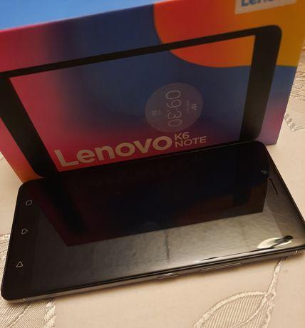 Lenovo K6 note dark gray
