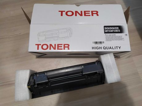 Zużyty czarny toner do drukarki Hp LaserJet Professional P1102