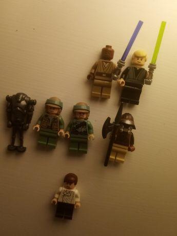 Lego star wars figurki