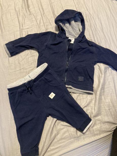 Bluza i spedemki Zara komplet 74
