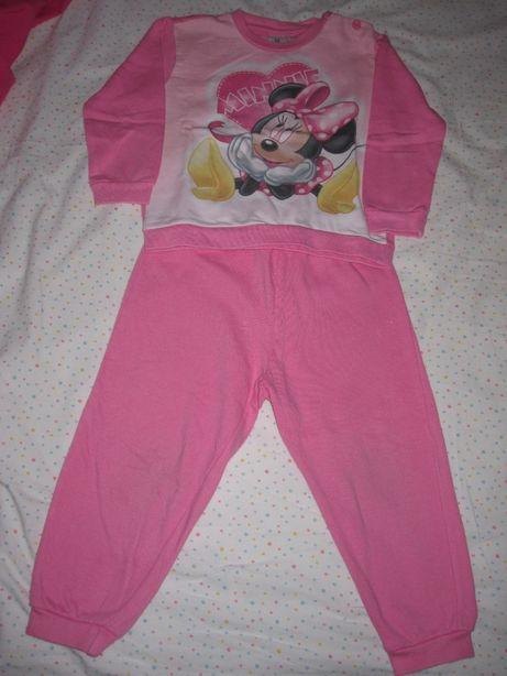 Fato de treino Minnie Mouse, Disney, TAM 24 meses (leva 3 paga 2)