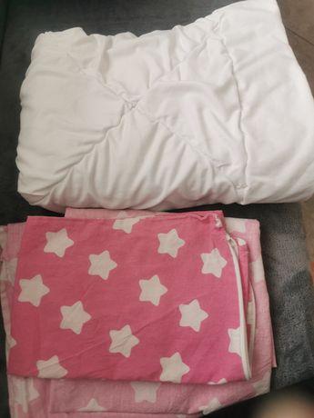 Kolderka do łóżeczka +3xpościel
