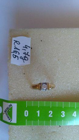 Pierścionek złoty z diamentami w cenie 5200 zł