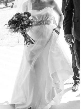 Suknia ślubna Angels + welon NOWA CENA