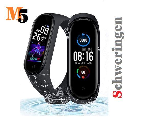 Smartband M5 --SCHWERINGEN-- SmartWatch PL menu zegarek 2020 HiT !!!