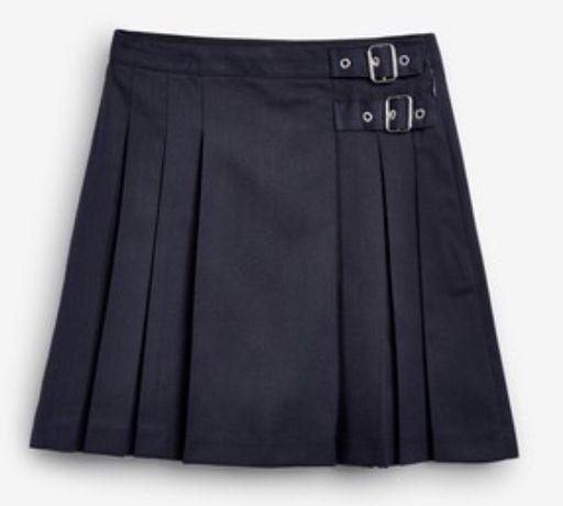 Next - Granatowa spódnica, rozm. 166 cm -15 lat