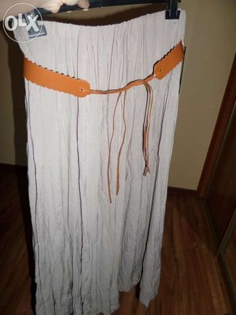 Maxi długa spódnica GRATIS PASEK