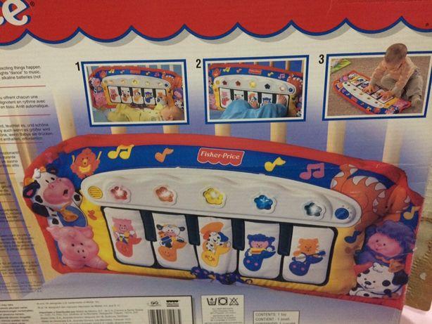 Piano para bebés pés & mãos