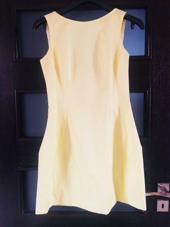 Elegancka sukienka koktajlowa z fiszbinami,S