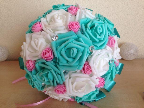 Bukiet z piankowych róż