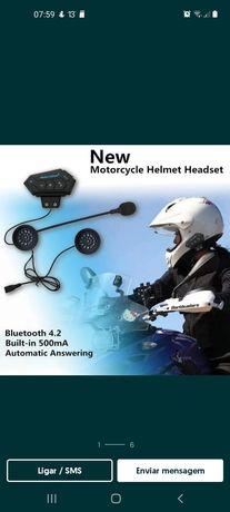 Intercomunicadores para capacete de mota