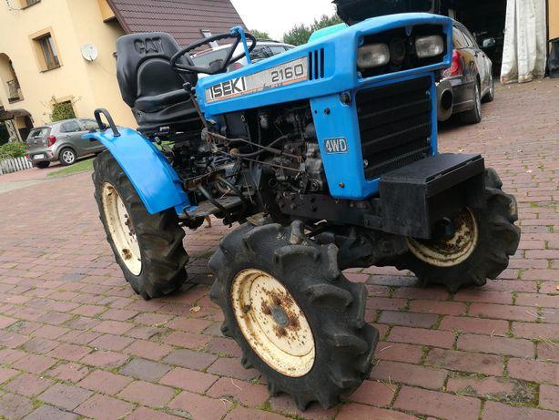 Traktorek iseki 2160, 4WD stan bardzo dobry