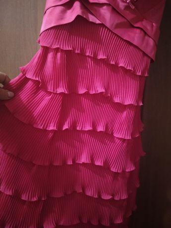 платье плиссе 42-44 размер