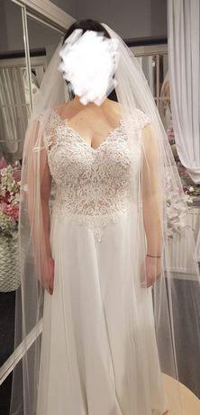 Suknia ślubna Susan Hooward r. 40 ivory