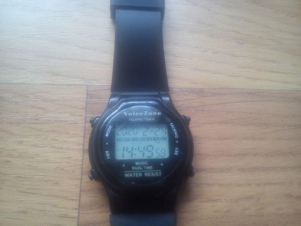 Zegarek męski mówiący godzinę