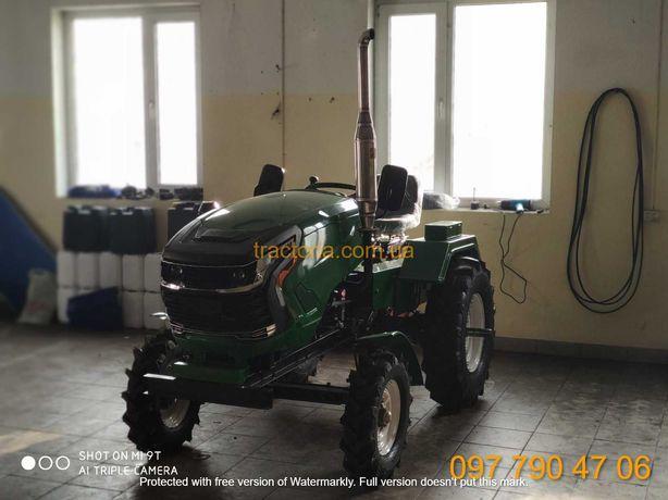 Трактор ЗУБР Т-25 +ФРЕЗА+2 ПЛУГ+ЗІП+ДОСТАВКА.мототрактор мінітрактор