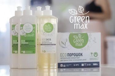 Натуральная бытовая химия Green Max