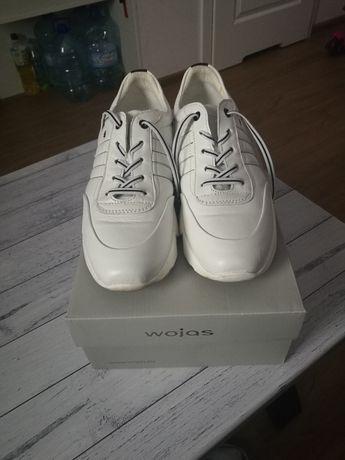 Buty damskie białe