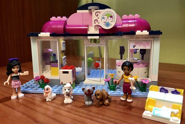Конструктор Лего (LEGO Friends) СПА  салон для питомцев
