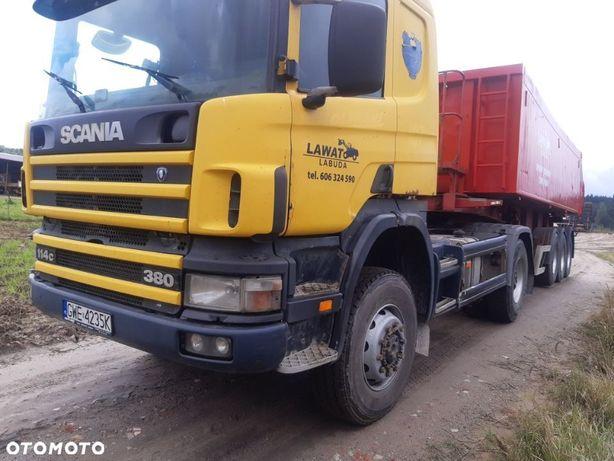 Scania P114380  4X4 ciągnik siodłowy