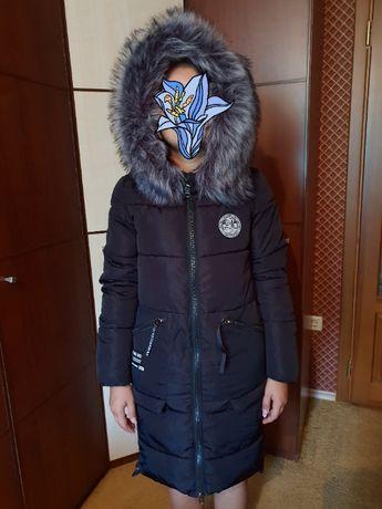 Зимнее пальто подросток