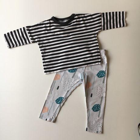 Bluzka spodnie handmade 74 80 j. Bobo choses, h&m, zara
