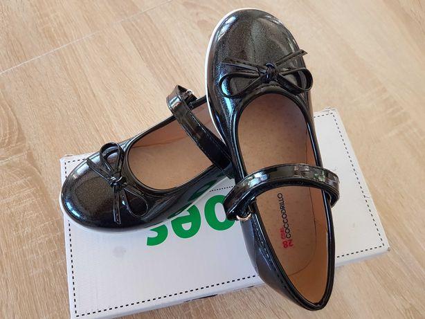 Półbuty balerinki eleganckie buciki dla dziewczynki Coccodrillo nowe