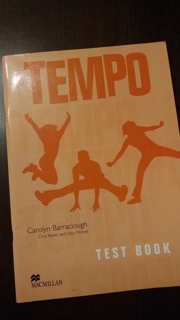 Tempo test book z plyta CD Testy do podrecznikow