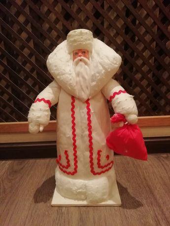Дед Мороз советский ватный СССР
