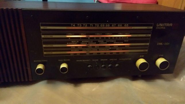 Radio UNITRA Diora DML-301 Antyk Vintage Retro