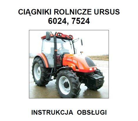 URSUS 6024, 7524 instrukcja obsługi po POLSKU!