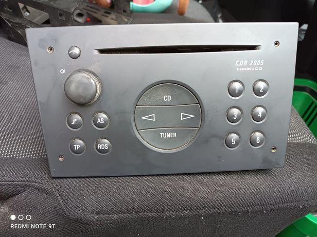 Radio Opel CDR 2005 Siemens VDO