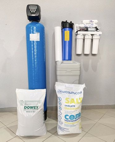 Умягчитель для воды, Фільтри для очистки води, пом'якшення води,