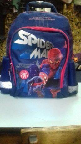 """Школьный портфель-рюкзак """"spider-man"""" для мальчика"""