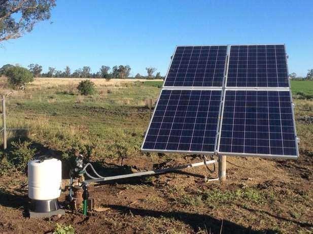 Bomba Solar 140 metros/ 3300 litros