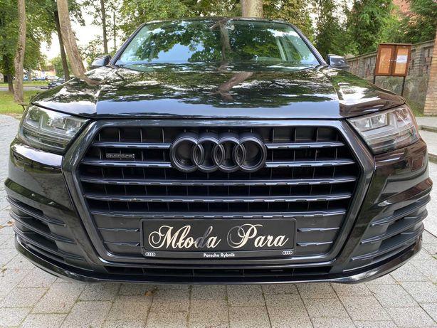 Samochód, Auto do ślubu czarne AUDI Q7