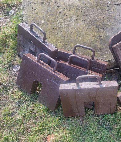 Obciążniki Balast Ciężarki Obciążenie 30kg x 5 sztuk Chełm Lublin
