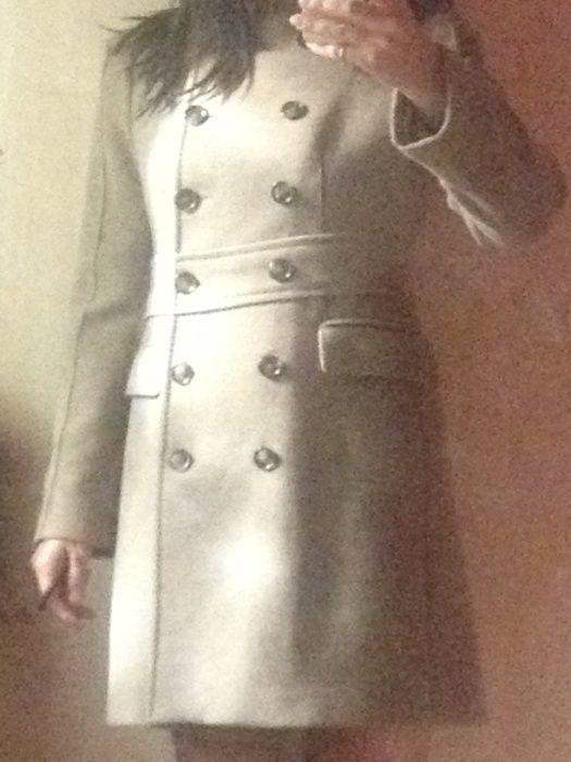 Элегантное итальянское пальто осень-весна zara! Запорожье - изображение 1