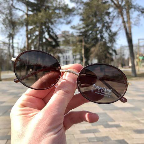 Солнцезащитные очки Овальной Формы с поляризацией (2 цвета) + чехол