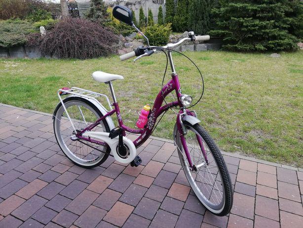 Rower Mexller 24 cale dla Dziewczynki