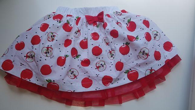 Новая юбка Chicco red apple