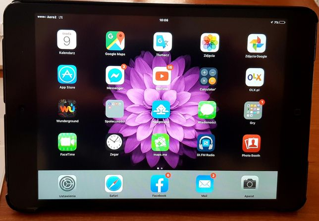 iPad mini 3G cellular + WIFI komplet wiele gratisów
