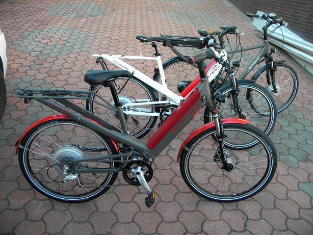 rower elektryczny Riese i Müller JET STREAM hydraulika 24 biegi Bionx