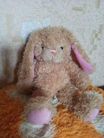 мягкая игрушка зайчик build a bear