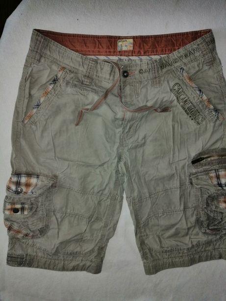 Spodnie Camp David krótkie XL