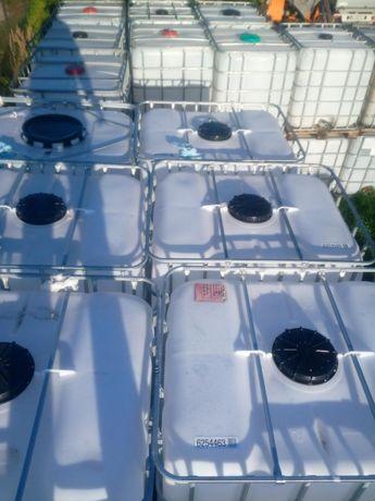 Zbiornik Mauzer 1000l paletopojemnik beczka na wodę RSM szambo