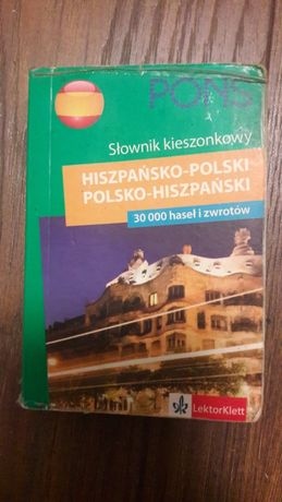 Słownik kieszonkowy polsko-hiszpański i hiszpańsko-polski PONS