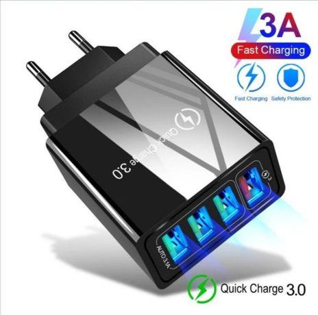 Szybka Ładowarka 3.0 Quick Charge 4 x USB