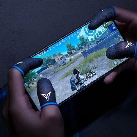1 пара мобильные напальчники Seuno 2020 синие для Pubg mobile телефон